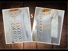 Uploads from Crochet your life - YouTube Youtube, Make It Yourself, Lace, Tops, Women, Videos, Beautiful, Fashion, Dress