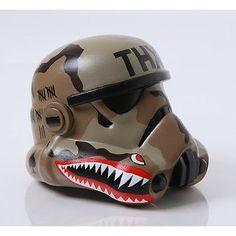 Stormtrooper Helmet: Authentic One-of-a-Kind Multimedia Art - THX