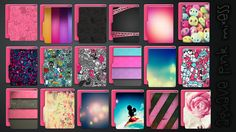 Icons Aquave Pink Mixess by kamysweet.deviantart.com on @DeviantArt