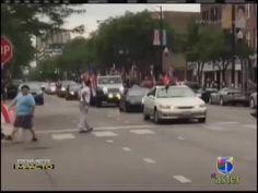 Captan Video De Tiroteo Durante Celebraciones Boricuas En Chicago #Video