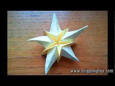 Sea Star Origami - YouTube
