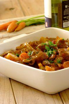 Wonderful, warming comfort food: Slow Cooker Lamb & Butterbean Stew. #crockpot #recipe #family #food