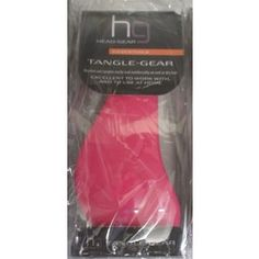 New Listing Started Pink and Black Head Gear Tangle Gear Detangling Brush Brushes Out Tangles Easily £8.99
