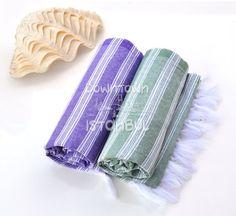 Beach Sarong Towel Set of 2 Turkish Bath Towel - Turkey Peshtemal France Linen Towel Sea Beach Towel Beach Wedding Swim Cover Up Guest Towel