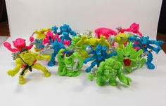 Monster In My Pocket - Series 7 - Space Aliens - Complete Set With Cards 4