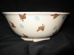 Emma Bridgewater Studio Special Speckled Hen Salad Bowl for Collectors Day