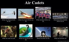 Air Cadets in the UK - It's a little different here in Canada