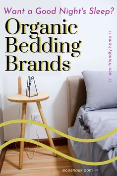 Here's a list of our favorite non toxic, sustainably-made organic bedding linen brands for your eco-friendly home. They're ethical and great for your health and for the environment's health. They're also extremely stylish! #organic #bedding #home #sustainable #furnishing Farm Lifestyle, Permaculture Design, Sustainable Furniture, Eco Friendly House, Recycled Furniture, Natural Cleaning Products, Home Look, Spring Cleaning, Good Night Sleep