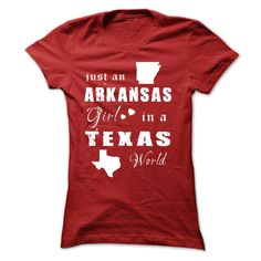 #michigan #states #texas... Cool T-shirts (Best Deals) ARKANSAS GIRL IN TEXAS - EngineerTshirts  Design Description: Are you pleased with your homeland and liked it endlessly? Get one right now and characterize by sporting it proudly! See extra at Designer  izi .... Check more at http://engineertshirts.xyz/states/best-deals-arkansas-girl-in-texas-engineertshirts.html
