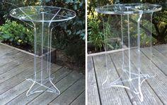 LE 2 D'ISIDORE  Le 2 d'Isidore est une gamme de mobilier outdoor qui s'intègre également parfaitement à l'intérieur. Fabriqué en méthacrylate transparent il est entièrement démontable. La gamme illumine son univers de couleurs et donne une tendance design après un montage rapide et facile.