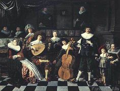 Jan Miense Molenaer - Family Making Music