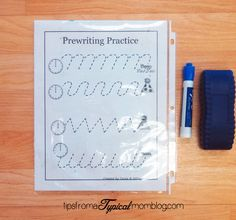 Name and Handwriting Practice Ideas for Preschoolers