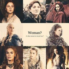 The women of Game of Thrones. All stronger than at least 2 different male characters. The women of Game of Thrones. All stronger than at least Winter Is Here, Winter Is Coming, Jon Snow, Game Of Trone, The Mother Of Dragons, Game Of Thrones 3, Game Of Thrones Characters, My Champion, My Sun And Stars