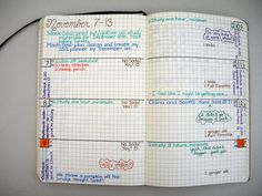 planner pages example | unknown original source