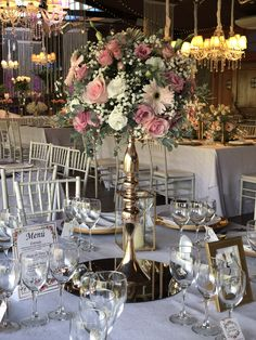 Table Settings, Table Decorations, Furniture, Home Decor, Modern Floral Arrangements, San Jose, February, Friday, Dinner