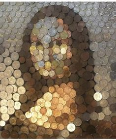 Leonardo Da Vinci Dibujos, Leonardo Vinci, Villa Toscana, Mona Lisa Parody, Classic Artwork, Coin Art, Principles Of Art, Illusion Art, Italian Artist