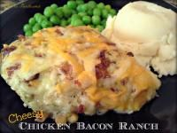 Cheesy Chicken Bacon Ranch on MyRecipeMagic.com is a moist and delicious chicken dish!
