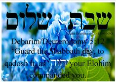 Shabbath Shalom!