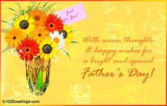 Father's Day send the best quotes, messages, sayings and cards to your father on this special day! Collection of quotes, cards for Father's Day Happy Fathers Day to all the fathers! Happy Fathers Day Message, Best Fathers Day Quotes, Happy Fathers Day Greetings, Fathers Day Messages, Fathers Day Wishes, Father's Day Greetings, Happy Wishes, Fathers Day Crafts, Father's Day Video