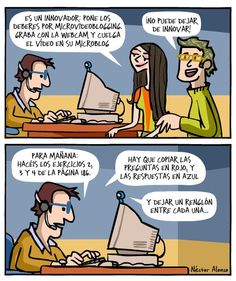 Profesores ¿innovando con las TIC?