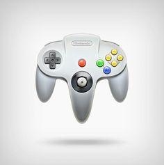 NIntendo64 Joystick Icon.