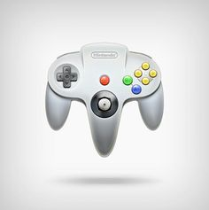 NIntendo64 Joystick Icon.