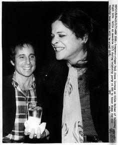 paul simon & gilda radner.