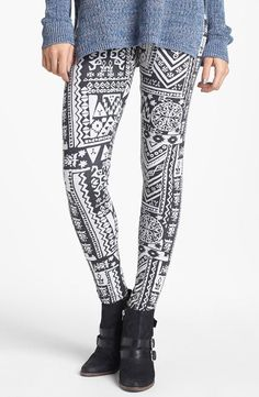 On trend: Print Leggings