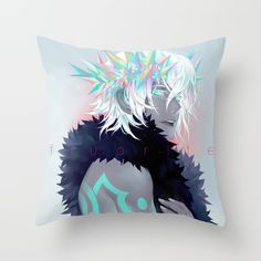 CLAMP Tsubasa FAI Throw Pillow by Lüleiya | Society6