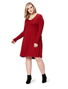 f7b333a6a9fcd Daily Ritual Women s Plus Size Jersey Long-Sleeve V-Neck ... https