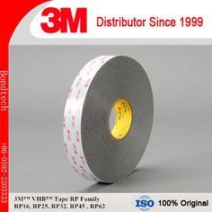 3M RP45 VHB Double Sided Tape, Gray, 45mils Thick, 12.5mmX33M (Pack of 1) #Affiliate