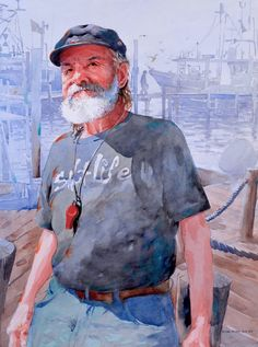 Portraits in Watercolor - American Watercolor by Michael Holter