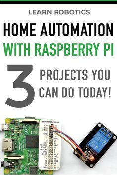 3 Projects using Relays & Arduino for Home Automation - Learn Robotics - Electronics Workshop Raspberry Pi is a power computer for Home Automation. Here are 3 projects you can try today to add automation to your home. Electrical Projects, Electronics Projects, Diy Electronics, Raspberry Computer, Pi Computer, Computer Technology, Raspberry Projects, Learn Robotics, Rasberry Pi
