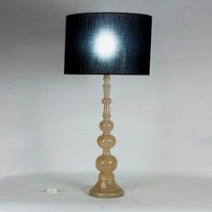 Vintage Alabaster Table Lamp, 1950s for sale at Pamono