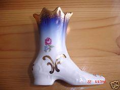 Vintage Porcelain Souvenir Boot