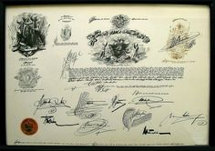 diploma print - Saul Steinberg