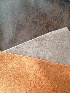 Bruin, taupe, cognac stoel kleuren combinatie. Colour combination for chairs: brown, cognac, taupe.
