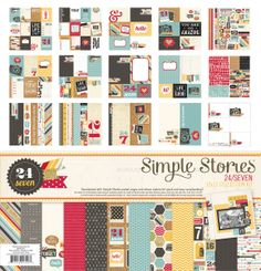 Simple Stories | 24 Seven | 12x12 Collection Kit