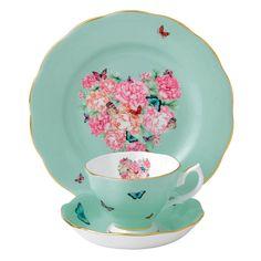 Must say, this is pretty good! - Miranda Kerr for Royal Albert Blessings Teacup, Saucer, Plate 20cm - WWRD Australia