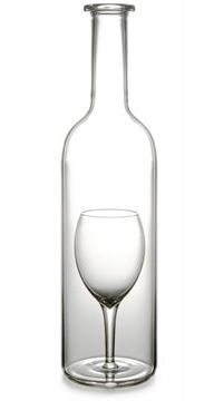Wine Carafe with Glass