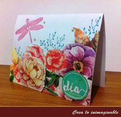Te traemos una hermosa tarjeta, un detalle que siempre puedes regalas a una linda persona en un día especial !!!  http://crea-lo-inimaginable.blogspot.mx/2015/10/dia-especial.html #scrapbook #manualidades #crafting #scrapbooking