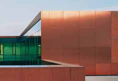 #KME TECU® CLASSIC Profiled Sheets and Rib Mesh at Stylepark! #copper