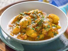 Curry chkn minus the potatoes Find the best recipe ideas, videos, healthy eating advice, party ideas and cooking techniques from top chefs, shows and experts. Chicken And Potato Curry, Jamaican Curry Chicken, Sweet Potato Curry, Chicken Potatoes, Curry Recipes, Potato Recipes, Chicken Recipes, Food Network Recipes, Cooking Recipes