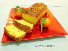 Plumcake al mandarino e panna - Ricetta colazione