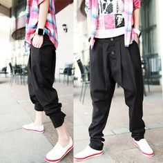 G Hip Hop Star Is Time Money Nappy Boys Men/'s Drop Crotch Tapered Chinos