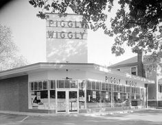 Former Piggly Wiggly store in Five Points. Location currently occupied by NoFo at the Pig.