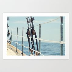 It's a Maine Kind of Day Art Print by Erin Green Photography - $18.00