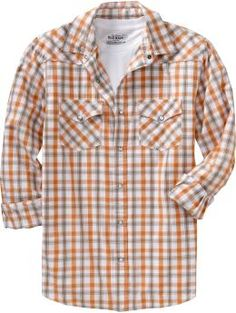 orange and gray shirt for guy