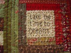 mug rug pour Christin, détail