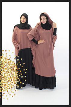 The abaya is to be worn with a large shawl or a cape so. Moslem Fashion, Niqab Fashion, Fashion Outfits, Muslim Women Fashion, Islamic Fashion, Hijab Fashion Inspiration, Mode Inspiration, Muslim Dress, Hijab Dress